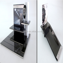 Acrylic Watch display Stand in Large Format Stores
