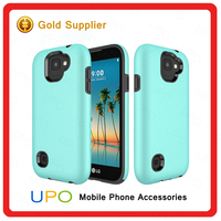 [UPO] 2 in 1 Shockproof Full Cover TPU PC Combo Hybrid Back Cover for LG K3 2017 Case