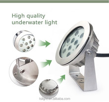 Wall recessed LED pool light