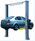 Car Lifts / 8 fold profile 2 post car lifts / auto hoist /used manual release vehicle lift for sale
