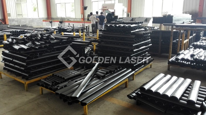 Laser Pipe Cutting Machine in Customer Side 1