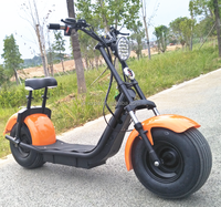new model 1000w 60v lithium battery citycoco scrooser fat tire electric scooter/cheap mobility motorcycle/cheap escooter