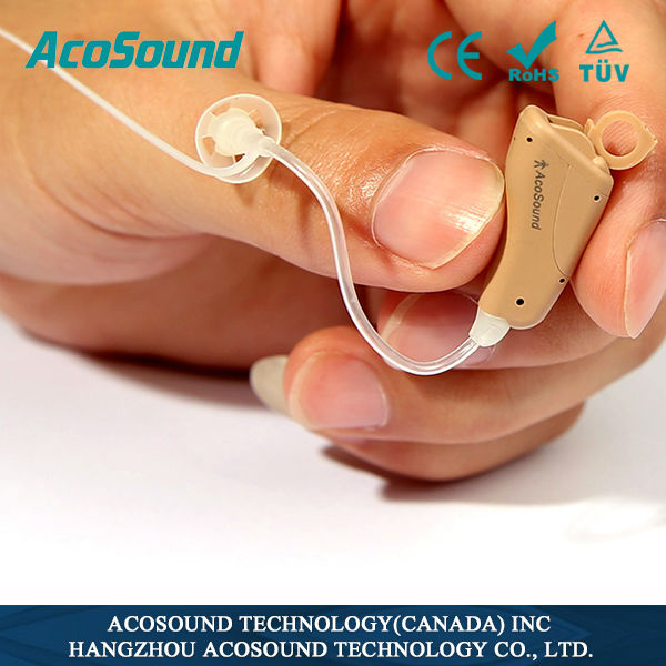 Acomate 821 Open Fit hearing aid prices China factory Deaf Personal CE Supplies Approved shooting ear protection