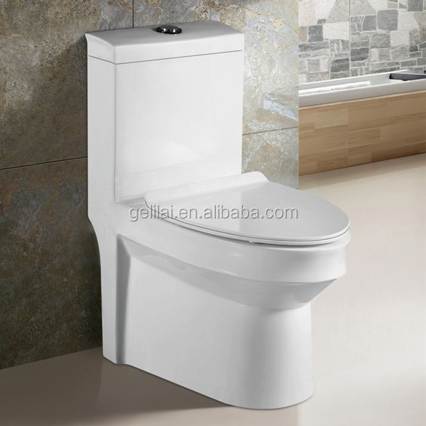sanitaryware bathroom ceramic water closet toilet bowl one piece toilet