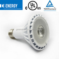 cob led light PAR 30 E27 10W UL CUL TUV super bright