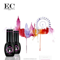 New arrival 2016 gel polish on toes Extreme shine gel nail with design