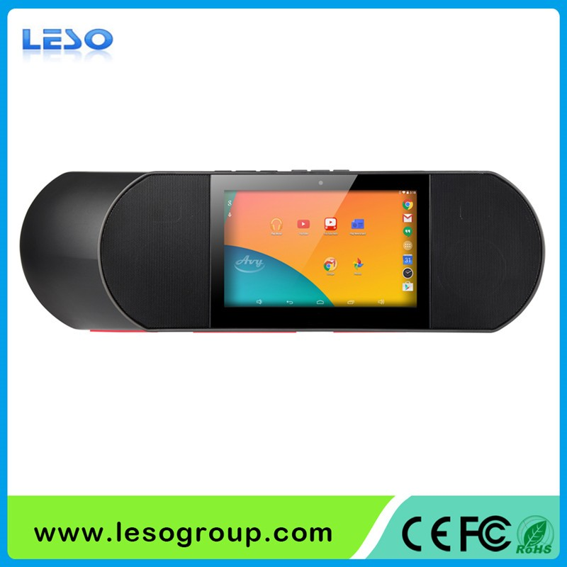 Android 5.1 Wifi Tablet speaker bluetooth sound pad with high sound quality as HIFI system, make your double TV