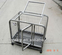 Pet Dog Cagewith Wheels
