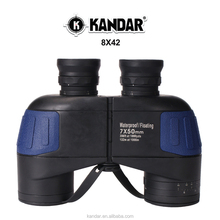 KANDAR 7X50 russian military night vision waterproof floating binoculars with compass
