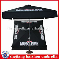 aluminum frame waterproof &UV proteciton 2mx2m outdoor umbrella,outdoor sun umbrella,square outdoor umbrella
