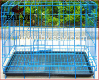 China Factory Direct Best Selling Foldable Indoor Welded Wire Dog Crate And Metal Dog Cage