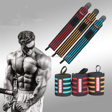 custom Crossfit gym fitness weight lifting / power lifting wrist straps