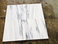 China natural durable service marble with ceramic tile