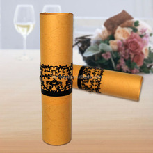 Laser cutting acrylic party paper table napkin rings for wedding or party decoration from Alibaba wholesale alloy napkin ring