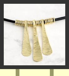 Bushman Piano necklace
