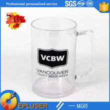 5oz Beer Festival mug promotional plastic cup with popular shape