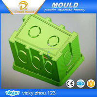 Precision Wall switch plastic parts mould/home switch plastic injection mold
