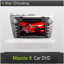 Special 8 inch 2 din Car DVD Player with GPS for Mazda 6 2012