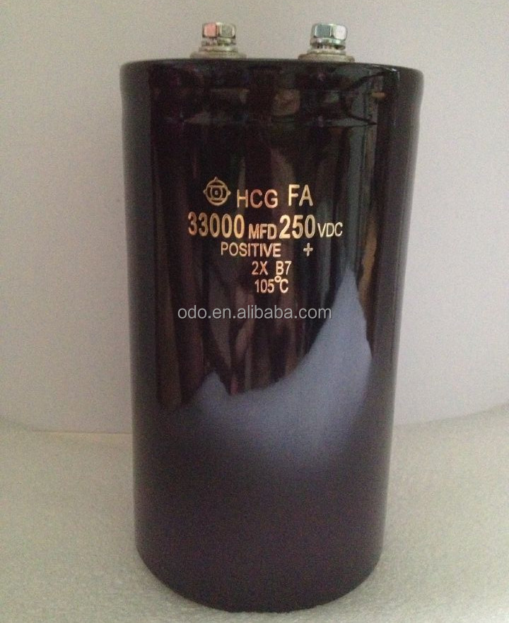 capacitor 250v 33000uf 90*160mm 1 SET=2 PCS