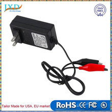 12V 2A Sealed Lead Acid Rechargeable Battery Charger For Car Motor Truck