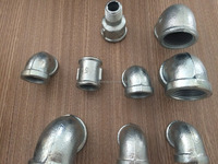 shining malleable iron pipe fittings