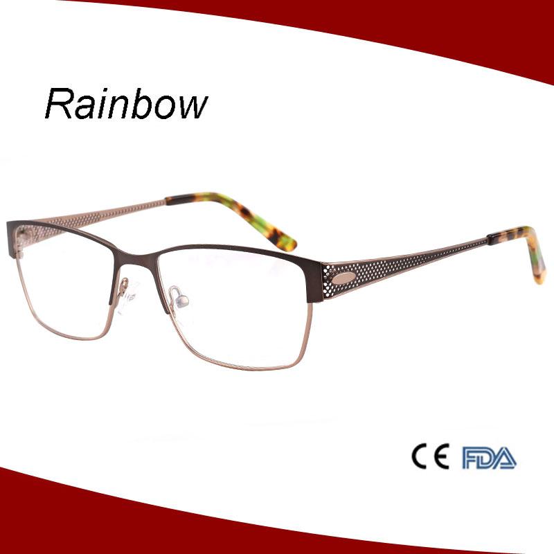 Half Frame Eyeglass Frames : 2016 Half Frame Eyewear Glasses Frames With Diamond For ...