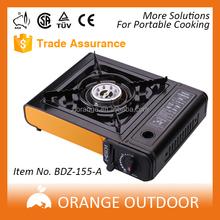 Orange Outdoor Picnic Portable cassette Camping Gas Stove