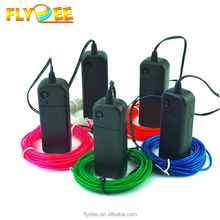 2017 Flydee 3m 5m LED Flexible Round Neon Light Glow EL Wire with low price multi color