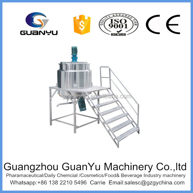 Electric heater mixing tank/mixer for Ointment mixing and blending