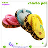 Slipper plush squeaker pet toy,pet product shoes toy for dogs