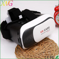 Factory price vr case for 3d glasses pc games with remote control for mobile phone