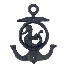 Home Decor Handicraft Ocean Theme Cast Iron Key Hook