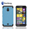 Factory price lovely baby blue smart phone rhinestone cover case for nokia lumia 1320