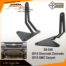 led light bar mounting bracket with 30 inch straight led light bar for 2015 Colorado/Canyon