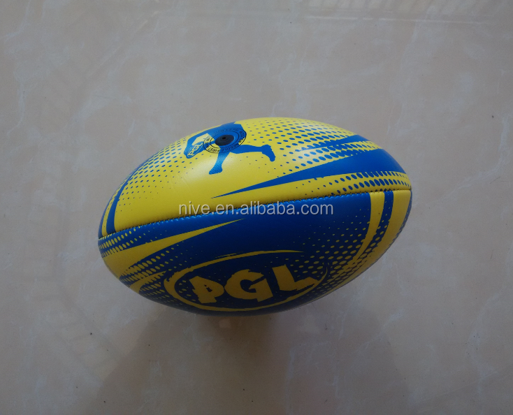 custom design promotional mini rugby ball
