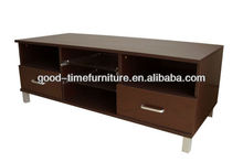 melamine wooden led tv unit