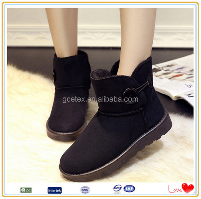 Popular customize womens winter boots shoes online factory in india