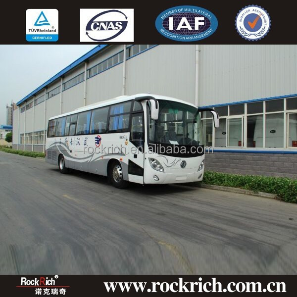 Dongfeng brand diesel 40 to 47 seat left hand new drive luxury bus price