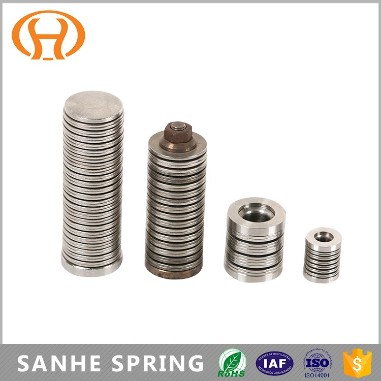 High temperature alloy springs Inconel 750 No7750 2.4669 belleville seat disc springs for industrial usage
