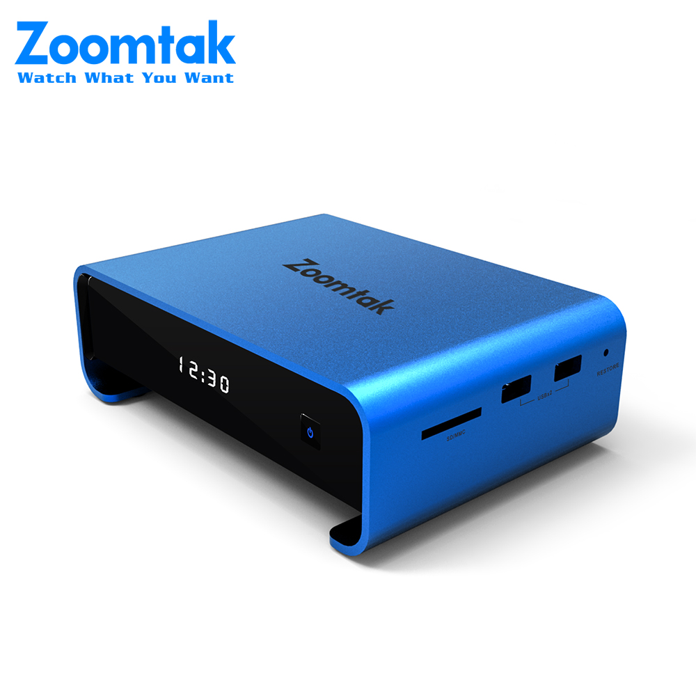 Blue Amlogic S912 Octa Core 2G 16G midnight android 6.0 set top box from Zoomtak