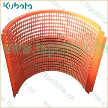 KUBOTA combine harvester concave spare part