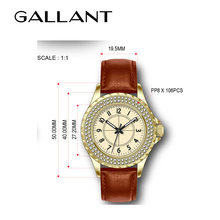 Luxury mens and womens wrist watch custom logo