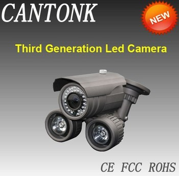 700tvl array led camera,1/3'' Sony ccd led array surveillance camera,80 Meters night vision led array cctv camera 700tvl.