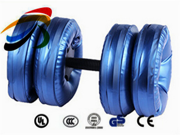 China Plastic Water Dumbbell crossfit equipment dumbbell set water filled dumbbells