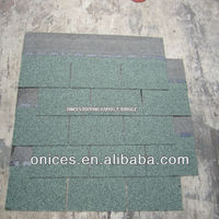 Light green asphalt roof tile