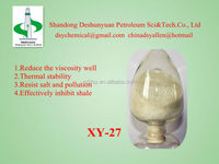 Amphoteric Polymer Thinner XY-27/drilling mud chemicals/drilling fluid additives/thinner