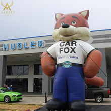 giant inflatable cartoon fox balloon