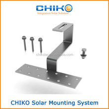 Lowest pricing roof hooks for the solar panel mounting