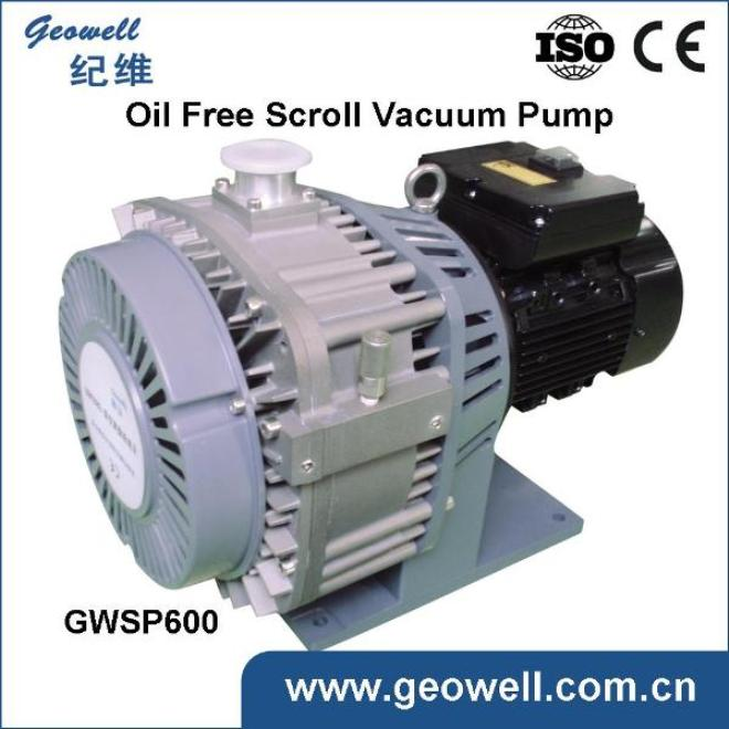 Oil free scroll Vacuum Pump-GWSP600