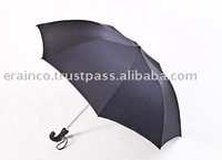 Sun Flower Black Curve Handle Umbrella 91CM